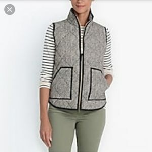 J Crew factory Excursion Herringbone Vest